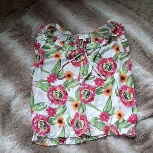 Dressbarn floral blouse